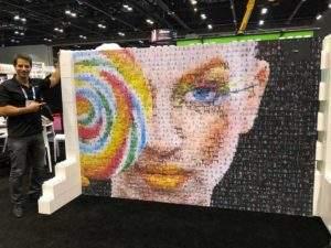 Photo Mosaic Wall Atlanta
